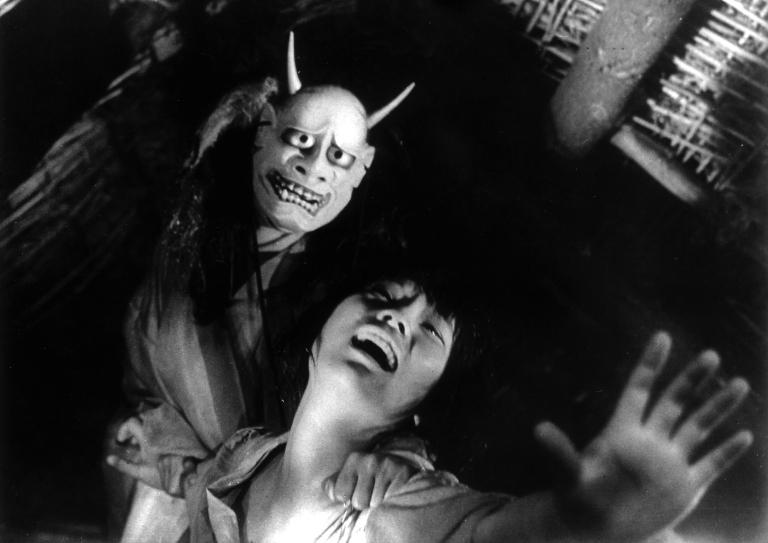 "Cena de ""Onibaba - A Mulher Demônio"""