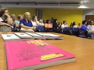 Em Santos, 100 professores participaram das atividades, nos dias 30/09 e 01/10