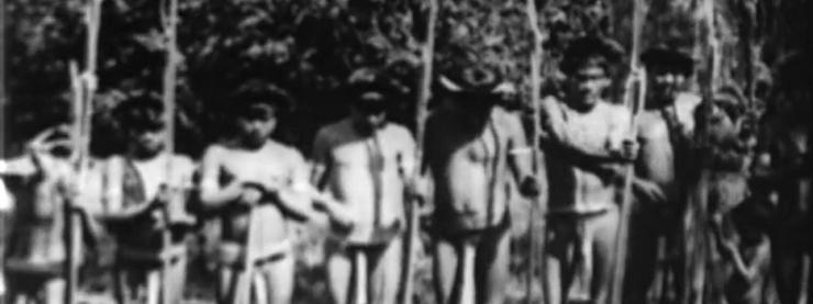 """Cena de """"No Paiz das Amazonas"""", de Silvino Santos e Agesilau de Araújo"""