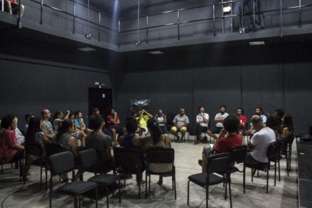 Roda de conversa na Fábrica de Cultura Capão Redondo