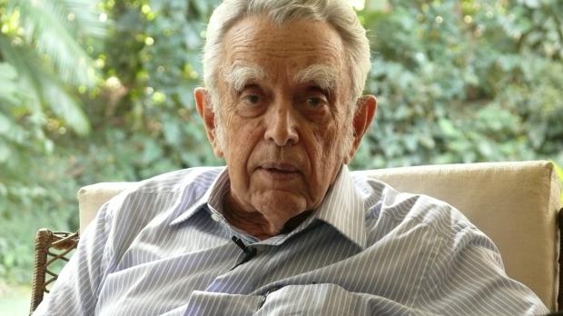 O ambientalista Paulo Nogueira Neto, homenageado da 5ª Mostra Ecofalante